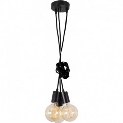 FilamentStyle Spider Lamp 3 Globes Suspension