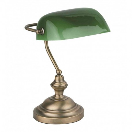 Faro Banker Lampe de table bronze
