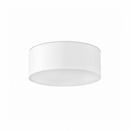 FARO SEVEN Lampe plafond blanc Ø50cm