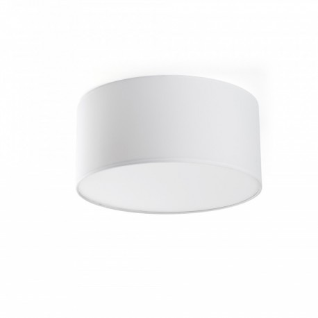 FARO SEVEN Lampe plafond blanc Ø40cm