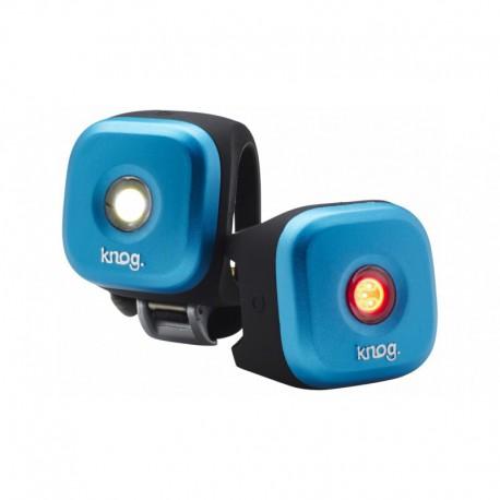 KNOG BLINDER 1 TWINPACK LED ÉCLAIRAGE AVANT + ARRIÈRE