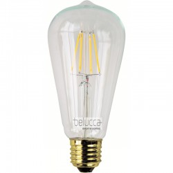 BELUCCA CLASSIC EDISON LED 7,5W 2700K E27 DIM - BC_FILED7.5W