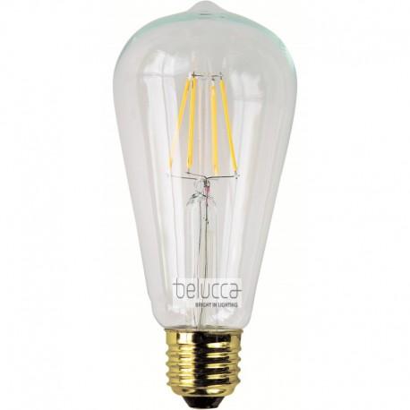 BELUCCA CLASSIC EDISON LED 7,5W 2700K E27 DIM - BC_FILED7.5W