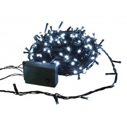 SPARKLE LIGHT LED 20m 9W guirlande de Noël animée blanc froid avec modulateur