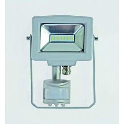 AS-Schwabe Projecteur LED 10W 4000K  Slim Line extérieur à détection