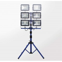 AS-Schwabe projecteurs LED 2x30W 4000K  sur trépied (sans coffret de transport)