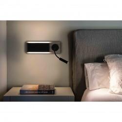 FARO MOOD Lampe applique avec liseuse