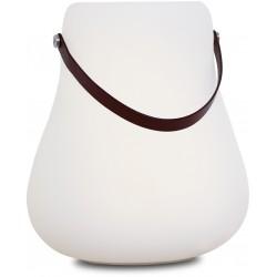 NORDIC D'LUXX FLOWERPOT L LIGHT - référence 103441 - Lampe à poser extérieur rechargeable LED multifonction - présentation