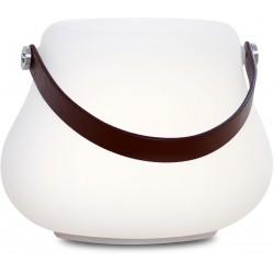 NORDIC D'LUXX FLOWERPOT  M LIGHT - référence 103410 - Lampe à poser extérieur rechargeable LED multifonction