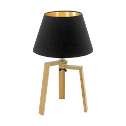 Eglo Chietino - réf. 97515 - vue de face - lampe de table tendance