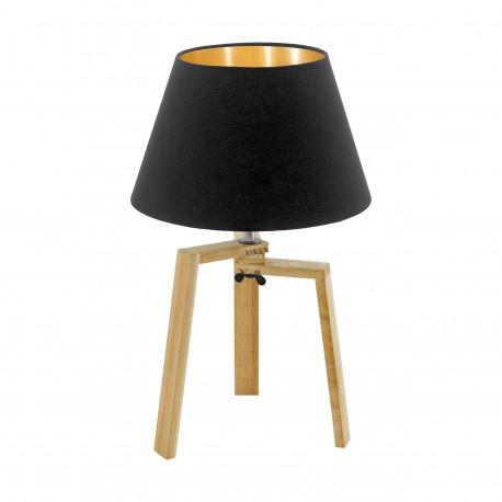 Eglo Chietino - réf. 97515 - vue de face - lampe de table tendance