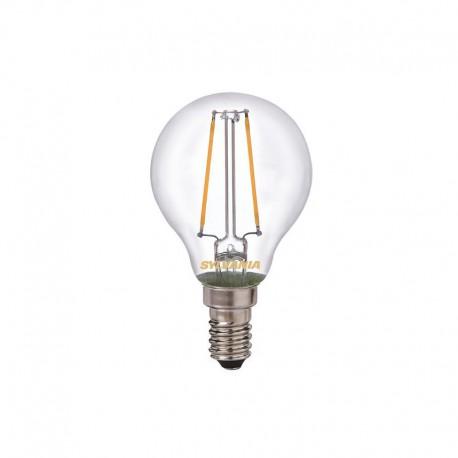 SYLVANIA Lampe LED ToLEDo RT Ball 2,5W Claire 250lm E14 SL