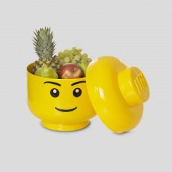 Tête de rangement LEGO L - Garçon