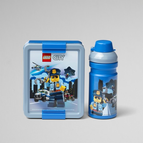 Ensemble boîte Lunch LEGO City - réf.4058 - vue de face