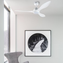 FARO POLARIS LED Ventilateur de plafond blanc
