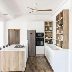 FARO GRID Ventilateur de plafond blanc
