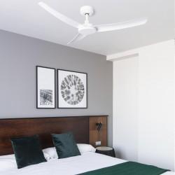 FARO SIROS Ventilateur de plafond blanc