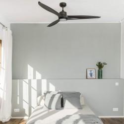FARO TONIC LED Ventilateur de plafond noir