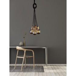NOWODVORSKI CABLE black-copper VII Lampe suspension noir