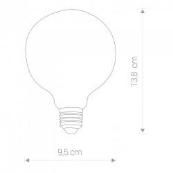 NOWODVORSKI Vintage Led A95 Bulb E27