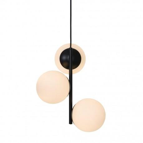 Lampe suspension noir  Nordlux Lilly - 48603003 - fond blanc
