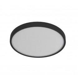 Plafonnier salle de bain noir Nordlux Noxy IP44 3000K/4000K - 2015356103