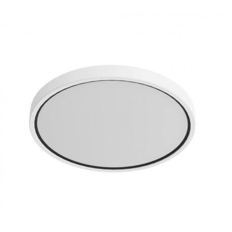 Plafonnier salle de bain blanc Nordlux Noxy IP44 3000K/4000K - 2015356101 - fond blanc