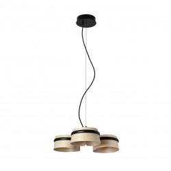 Lampe suspension bois frêne Loop LED - 29397