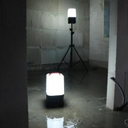 Projecteur portable LED Scangrip Area 10 CAS avec pack avec alimentation filaire
