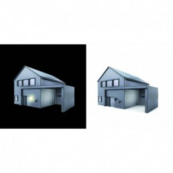 STEINEL NIGHTMATIC 2000 interrupteur crépusculaire blanc