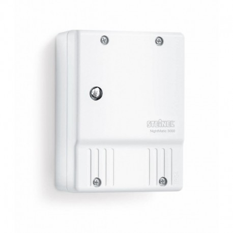 STEINEL NIGHTMATIC 3000 VARIO interrupteur crépusculaire blanc