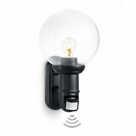 steinel lampe d tection l 560 s luminaire d tecteur l 560 s noir sur ma lumi re led. Black Bedroom Furniture Sets. Home Design Ideas
