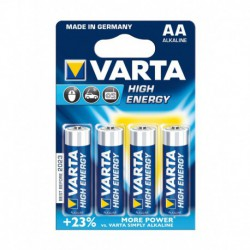 Varta High Energy Piles Alcalines AA LR06 x 4