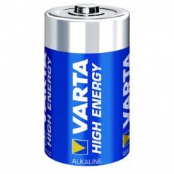 Varta High Energy Piles Alcalines D LR20 x2