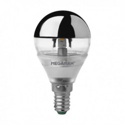 MEGAMAN CROWN SILVER CLASSIC A45 LED 3,5W E14