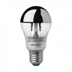 MEGAMAN CROWN SILVER CLASSIC A60 LED 5W E27