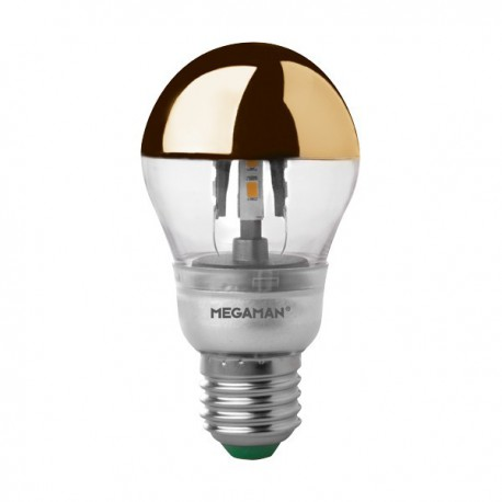 MEGAMAN CROWN GOLD CLASSIC A60 LED 5W E27