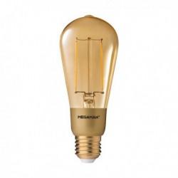 MEGAMAN CLASSIC EDISON GOLD LED FILAMENT 3W 2200K E27