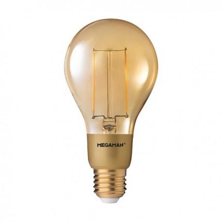 MEGAMAN CLASSIC A75 GOLD LED 3W 2200K E27