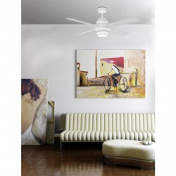 FARO DISC FAN Ventilateur 4 pales LED 35W 3000K