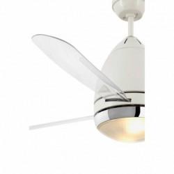 FARO FARETTO Ventilateur blanc 3 pales 2x E27